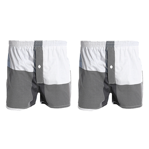 Pack of 2:Patch Cotton Comfrotable Boxers For Men