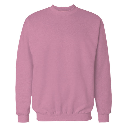 Pink Plain Sweatshirt