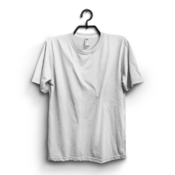 White Cotton T-Shirt For Men