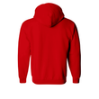 Red Plain Zipper Hoodie