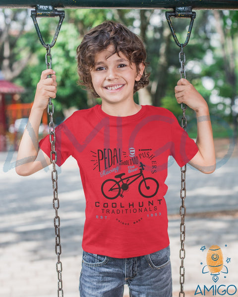 Red Pedal Cool Hunt T-shirt