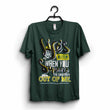 "Dark Green ""Life is better with creativity"" T-Shirt"