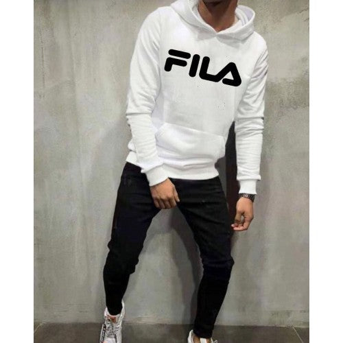 Fila White And Black Tracksuit