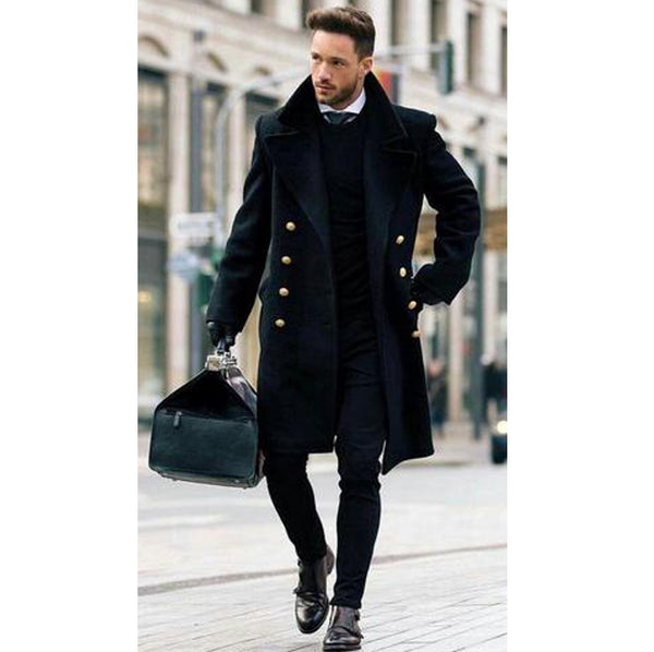 Fleece Stylish Coat For Men's
