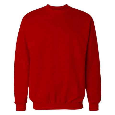 Red Plain Sweatshirt