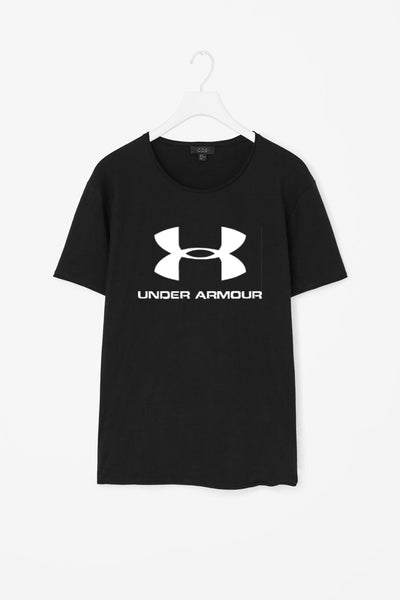 Under Armour Printed Black T-shirt