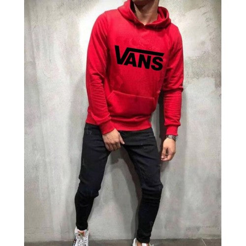 Vans Red And Black Tracksuit