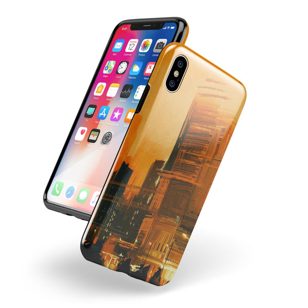 City Blur - Swappable Series iPhone Case