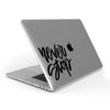 Never Stop (Black) // Crystal Clip-On MacBook Case