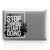 Stop Thinking Start Doing // Crystal Clip-On MacBook Case