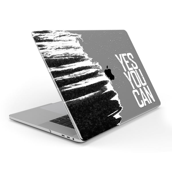 Yes You Can // Crystal Clip-On MacBook Case