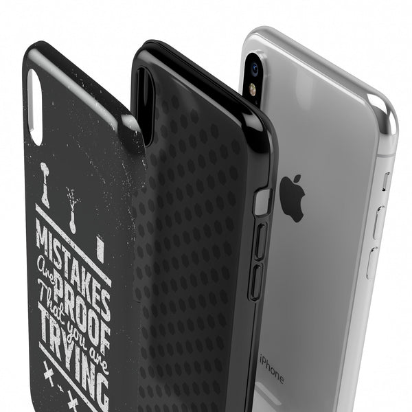 Proof You're Trying - Swappable Series iPhone Case
