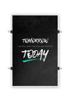 Start TODAY - Black - Poster Print