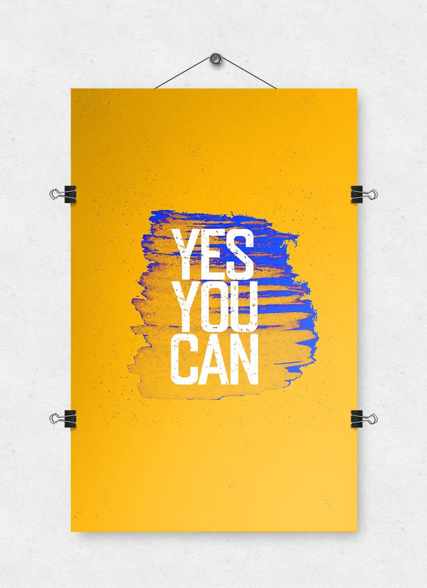 Yes YOU Can - Poster Print