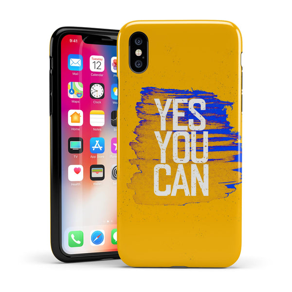 Yes You CAN - Swappable Series iPhone Case