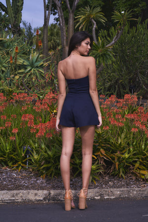 Layla Playsuit Navy