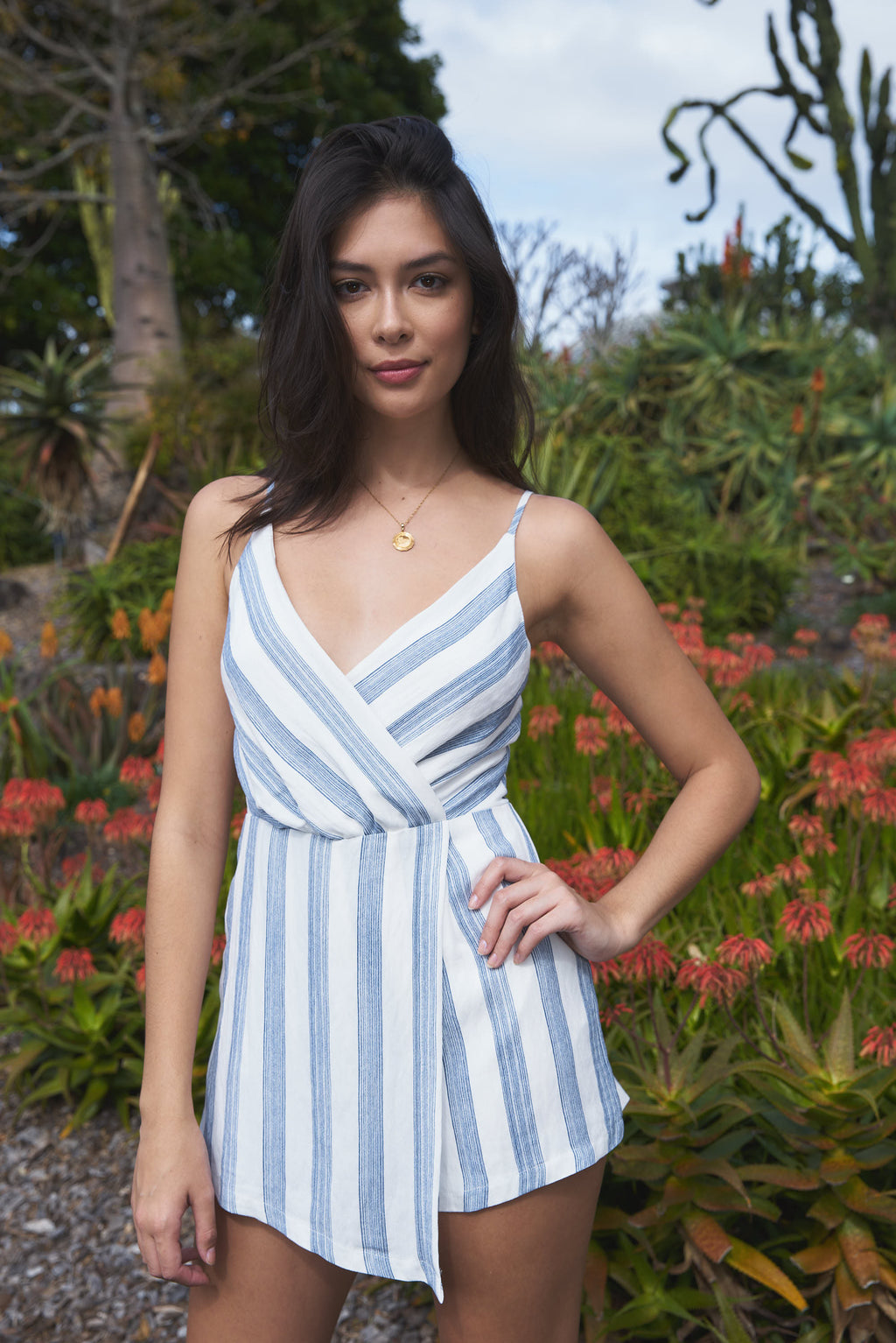 Crete Stripe Playsuit