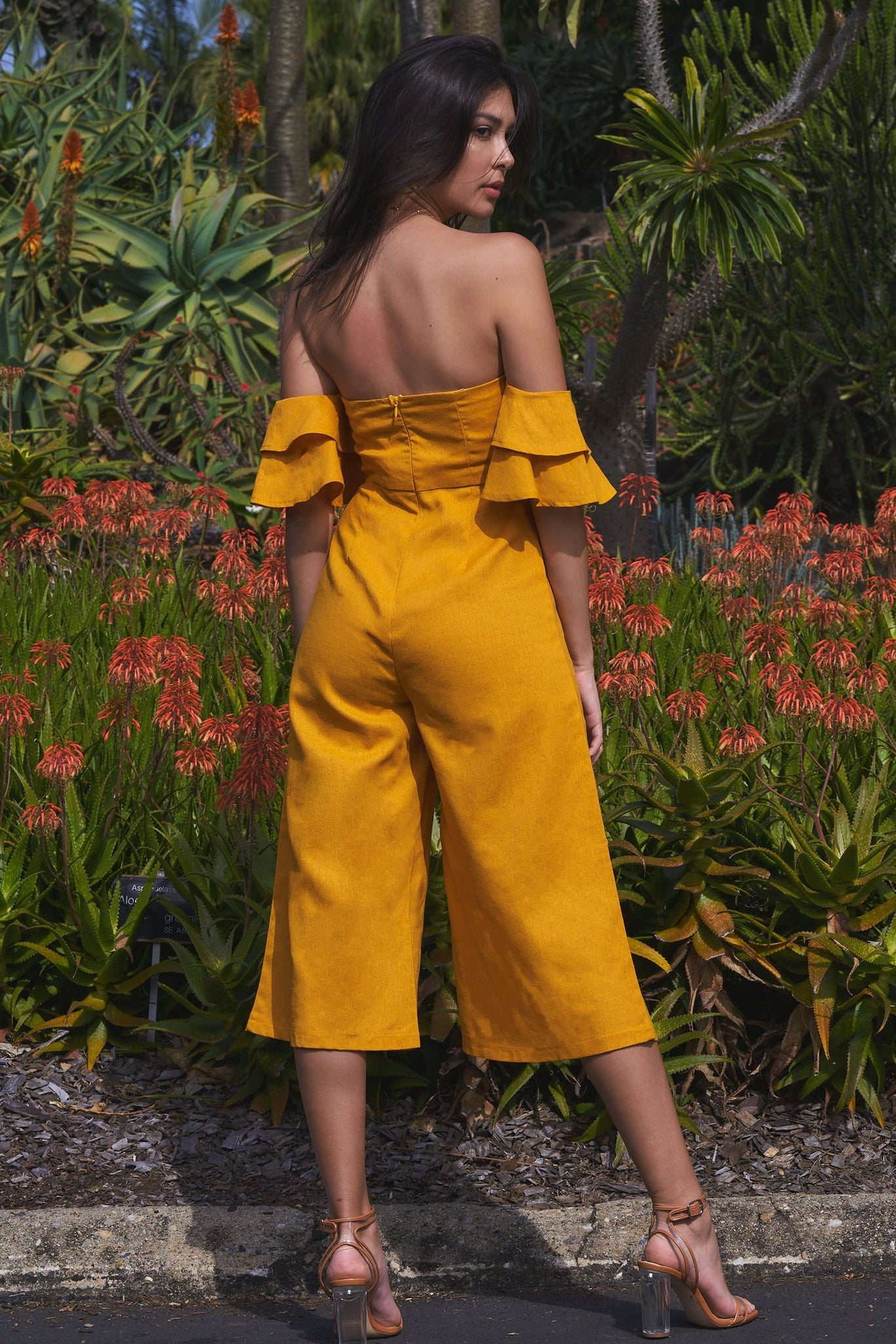 Dakota Jumpsuit Mustard