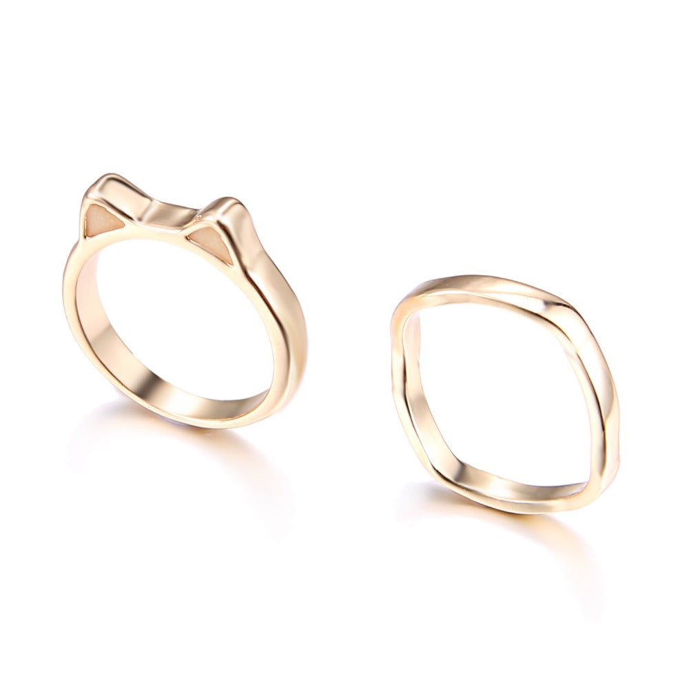 fashion design cat silver cute detail rings buy sale product girls for sterling hot