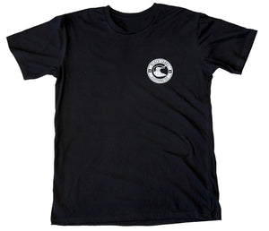 Black Label Clothing | Pitted Tee | Black