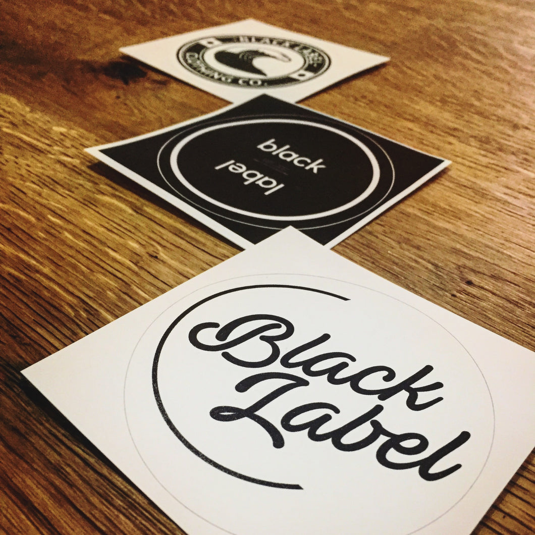 Black Label Clothing | Sticker Pack