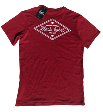 Black Label Clothing | Diamond Heads Tee | Maroon