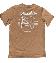 Black Label Clothing | Island Time Tee | Tan
