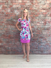 Fuschia Floral Dress - CAN