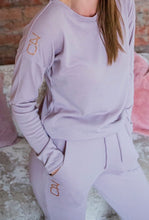 Fawn Knit jersey and jogger Lounge set - Style 361