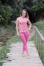 Cerise Pink - Style 324  3/4 pants