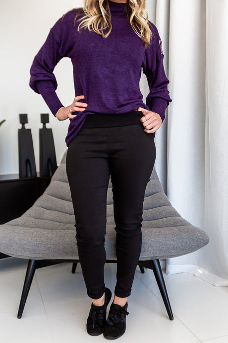 CAN Black pants - Style 371