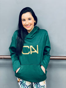 CAN Hoodie - Emerald/Gold CAN - Style 350