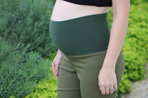 Army Green Maternity pants