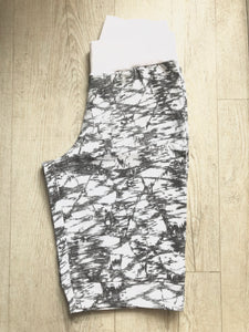 Boutique Grey & White Printed Shorts