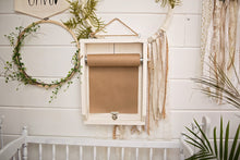 Scroll Kraft Paper Wall Mount Message Board List Notes Grocery Schedule Quote Cute Saying Holiday Display Handwritten Decor Office School