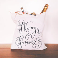 Wedding Day Tote Bag Always and Forever