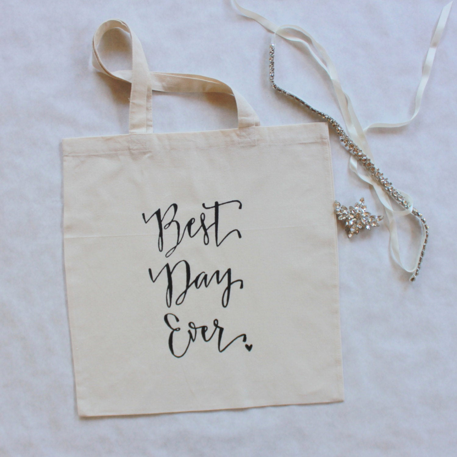 Best Day Ever Wedding Welcome Bag Wedding Favor Gift Bags Bridal Bag ...