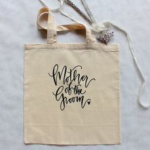 Mother of the Bride & Mother of the Groom Wedding Tote Bag set of 2