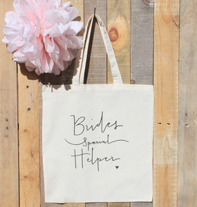 Wedding Coordinator Bride Helper Gift Tote Bag