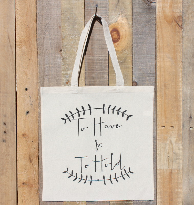 Wedding Welcome Gift Bag To Have To Hold Hotel Favor Tote Bridal