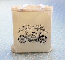 Tandem Bike Better Together Wedding Welcome Bag Hotel Favor Gift