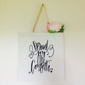 Swag Bag for All Occasions Confetti Tote Bag- Spread Joy Like Confetti