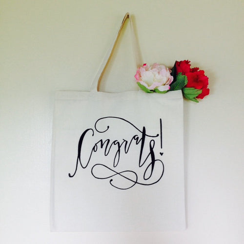 Congrats Gift Bag Graduation New Baby New Job Engaged Promotion Retirement Housewarming