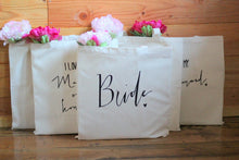 Matron of Honor Wedding Party Gift Tote Bridal Party Gift