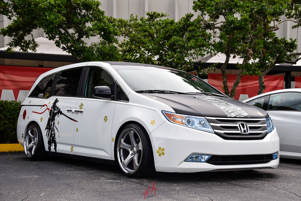 H+A Only | Low n Clean Car Show Honda Odyssey