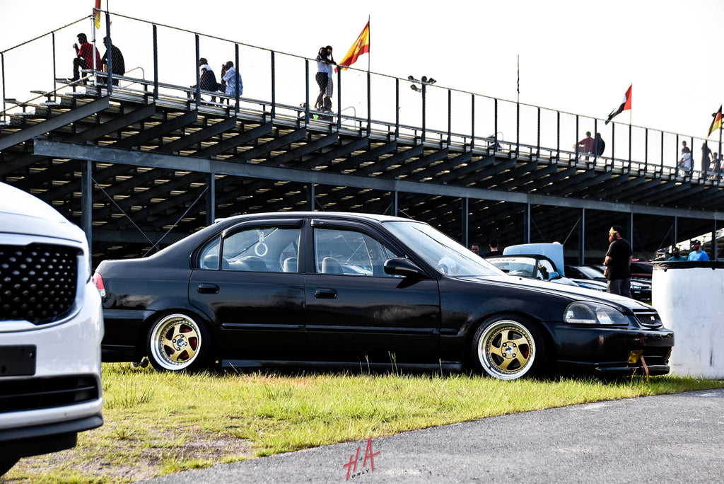 H+A Only | Street Racing Made Safe Roll Racing Honda Civic 4 Door EJ8 D16