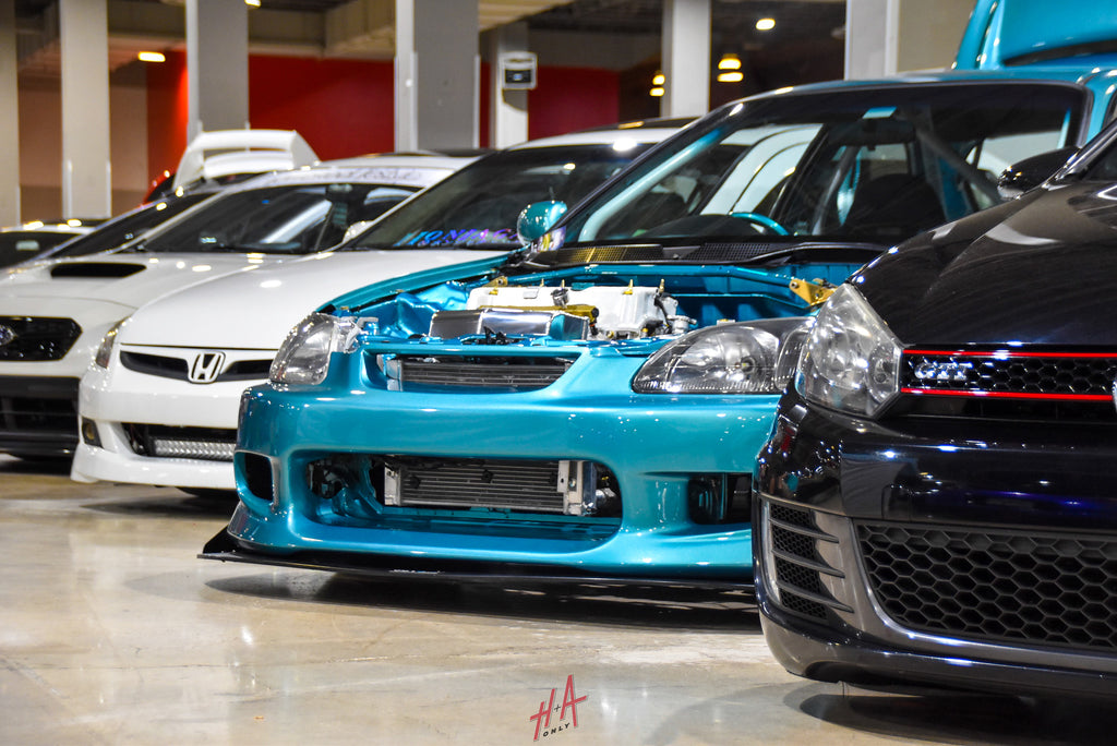 H+A Only | Low n Clean Car Show Honda Civic K20 K-Series RHD EK Hatchback