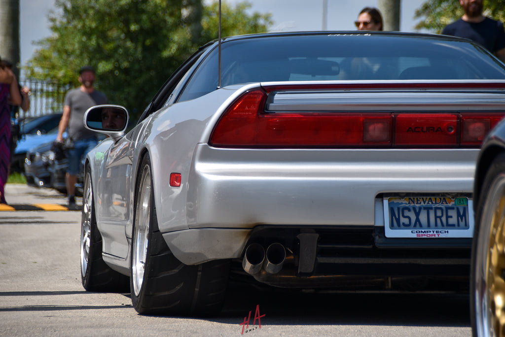 H+A Only | Supercar Saturdays Acura NSX NA1 Supercharged rolling HRE Wheels