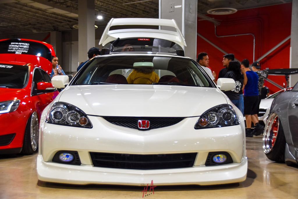 H+A Only | Low n Clean Car Show Acura RSX DC5 K20