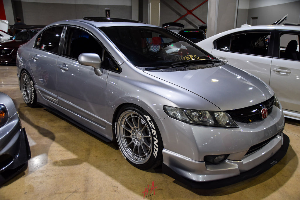H+A Only | Low n Clean Car Show Honda Civic Si FA5 K20